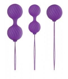 Luxe O Weighted Kegel Balls Purple
