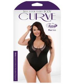 Curve P274 Olivia Hooded Playsuit 3X4X