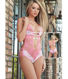 B1402 - 1pc Play & Tease Teddy Pink Love
