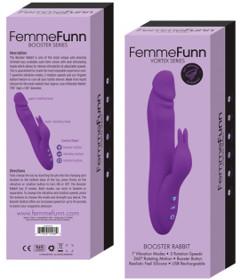 Femme Fun Booster Rabbit Purple