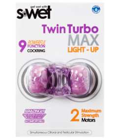 S-Wet Twin Turbo Light Up Purple