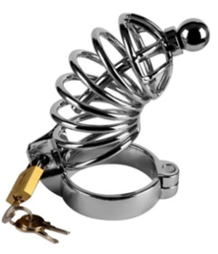 Penetration Metal Chastity Cage