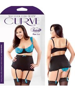 Curve Lace Bra High Waisted 3x4x