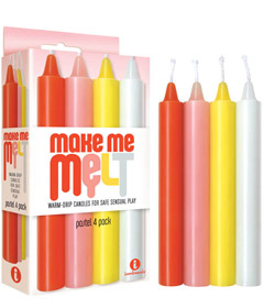 Make Me Melt Candles Pastel 4pk