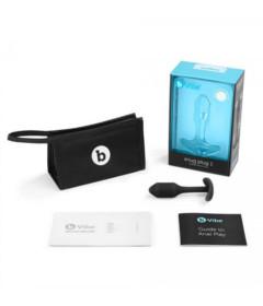b-vibe Snug Plug 1 Black