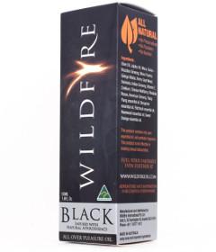 Wildfire Pleasure Oil Black 50ml