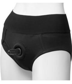 Vac-U-Lock Panty Harness Briefs S M