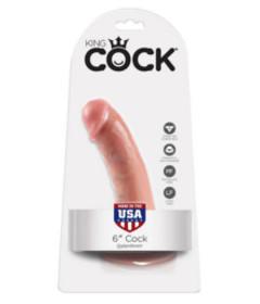 King Cock - 6in Flesh
