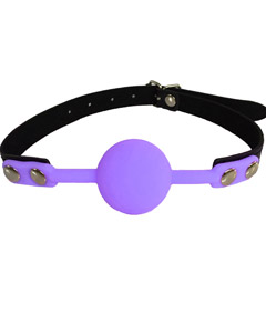 GAG006 - Silicone Gag Purple