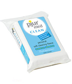 Pjur Med Anti-Bacterial Clean Wipes 25pk