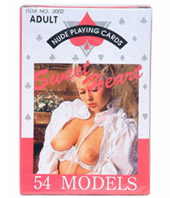 Female Nude Playing Cards