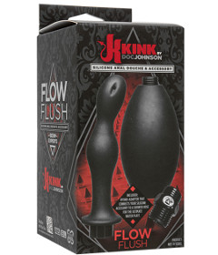 Kink Flow Flush Silicone Anal Douche