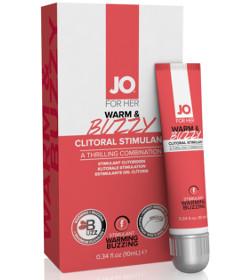 System JO Warm & Buzzy Clitoral Cream 10ml