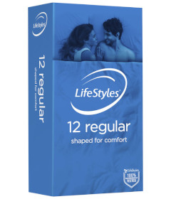 Ansell Lifestyles Regular - 12pk