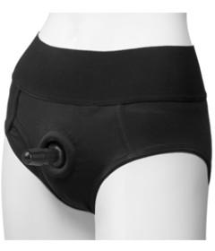 Vac-U-Lock Panty Harness Briefs L XL