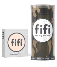 Fifi Camo with 5 Sleeves