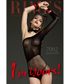 Rimes 7092 Black Shortbody Stocking
