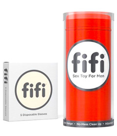 Fifi Red with 5 Sleeves