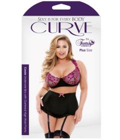 Curve P217 Cassie Bra Skirt Panty 1X2X