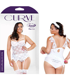 Curve Angel Costume 1x2x