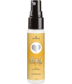 Deeply Love You Throat Spray Butter Rum