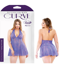 Curve Lace Stretch Chemise 3x4x