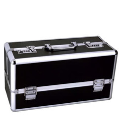 Lockable Vibrator Case - Large Black