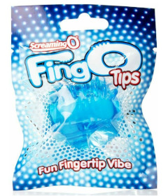 Screaming O FingO Tips Blue