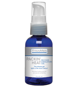 TitanMen Packin Heat Prostate Gel