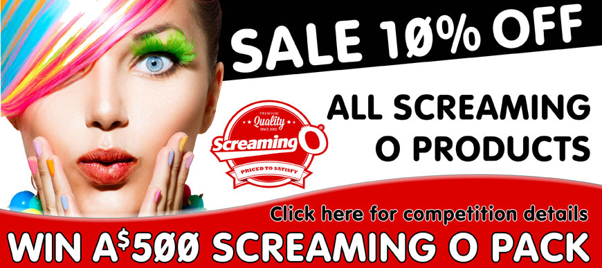 Screaming O Sale, WIN a $500 Gift Pack