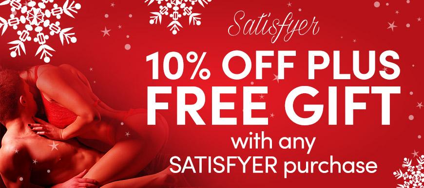 Satisfyer - 10% off the entire range!