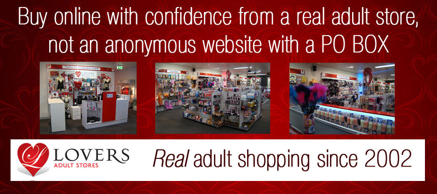 Shop at a real adult store