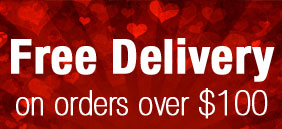 Free Delivery on all orders over $100