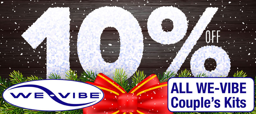 10% Off all We-Vibe Couple's Kits