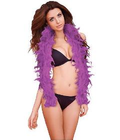 Seductive Feather Boa Purple