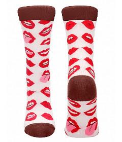 Sexy Socks Lip Love Size 42-46
