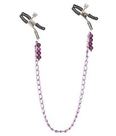 Nipple Play Purple Chain Nipple Clamps
