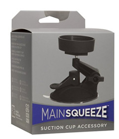 Main Squeeze Suction Cup Black