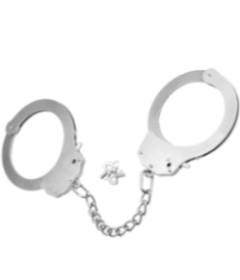 Fetish Pleasure Metal Handcuffs LV1503