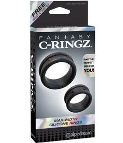 Fantasy C-Ringz Max-Width Rings Black
