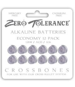 ZT LR44 AG13 Alkaline Battery 12pk