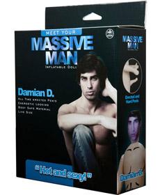 Massive Man Doll - Damian D