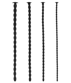 Silicone Spiral Screw Sounding Plug Set