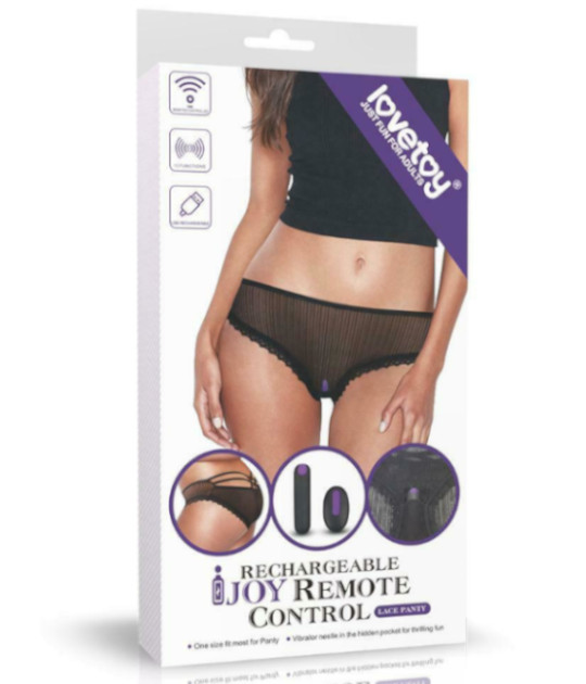 IJOY Rechargeable Remote Vibe Panties