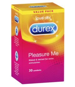 Durex - Pleasure Me Condoms - 30 pack