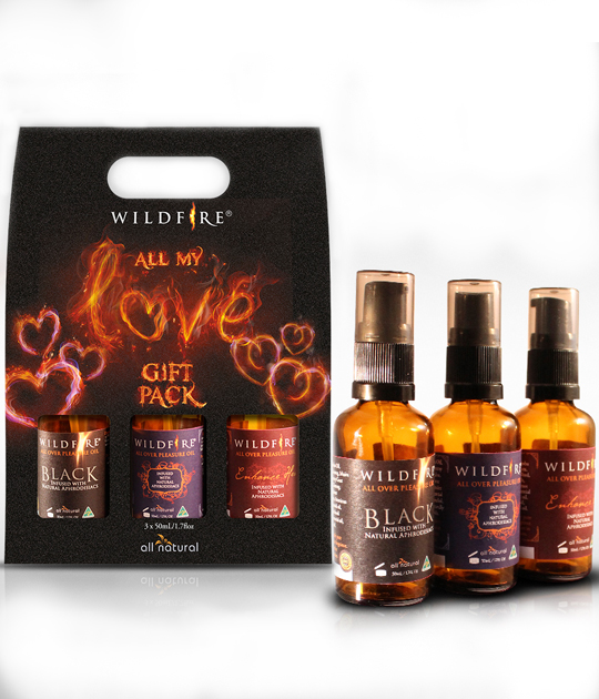 Wildfire - All My Love Gift Pack 3 x 50ml