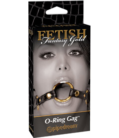 Fetish Fantasy Gold - O Ring Gag
