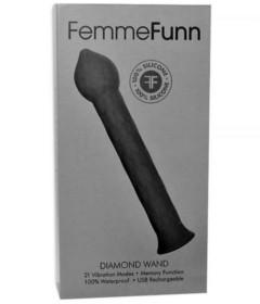 Femme Fun Diamond Wand Black