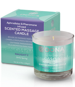 Dona Scented Massage Candle Naughty