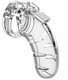 MANCAGE Model 3 - Chastity Clear 11.5cm